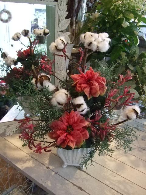 オークリーフ花の教室(クリスマスレッスン)_f0049672_15304356.jpg