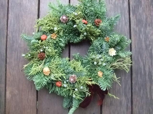 オークリーフ花の教室(クリスマスレッスン)_f0049672_15543642.jpg