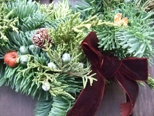 オークリーフ花の教室(クリスマスレッスン)_f0049672_15562217.jpg
