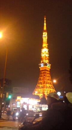昨日の東京タワー_d0038951_22504985.jpg