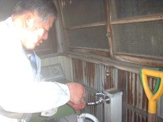 浴室リフォーム6日目_f0031037_1940742.jpg