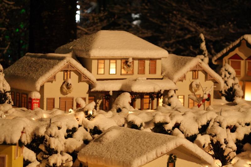 小さな町並みに雪_f0091207_1541747.jpg