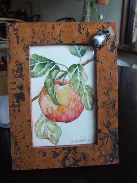 りんごの絵~水彩画~_b0089338_20175396.jpg