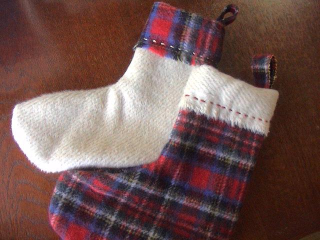 クリスマスの靴下。_e0060555_22323785.jpg