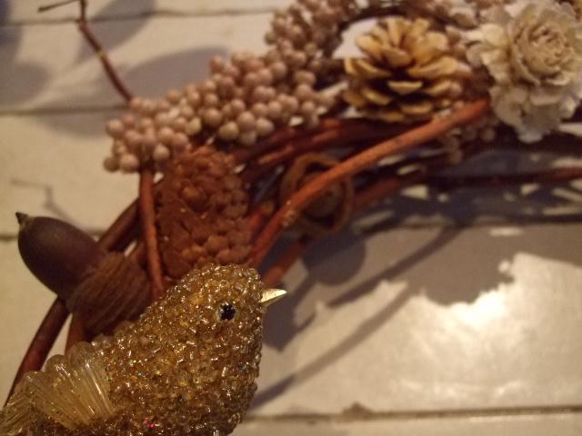 オークリーフ花の教室(クリスマスリース)_f0049672_15164053.jpg