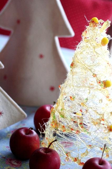 シュクレフィレ 飴細工のツリー*クリスマスツリー / 2008 クリスマスシリーズ vol.1_d0034447_13564497.jpg