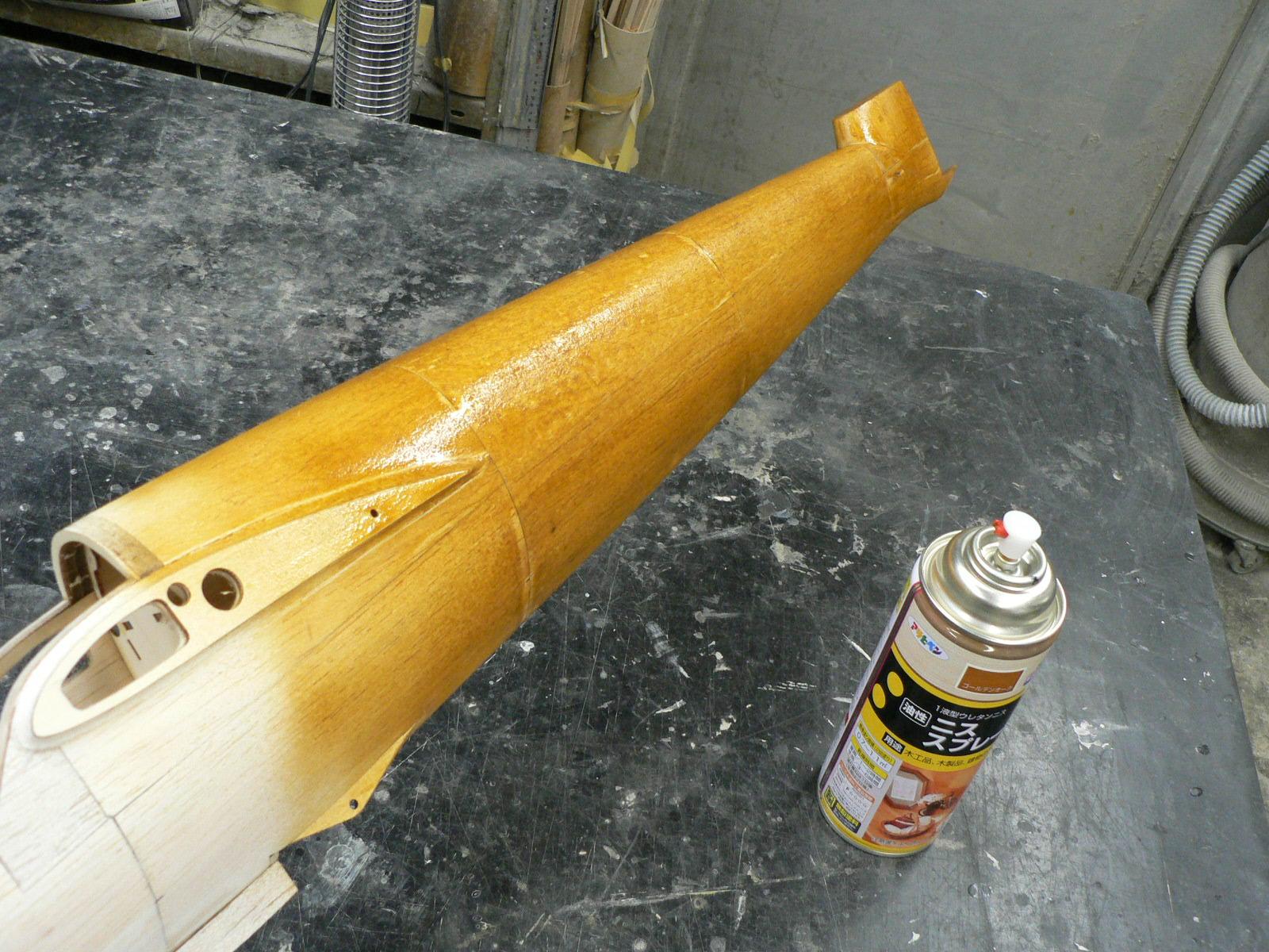 バルサ胴体の塗装  追加しました。_e0146402_10351678.jpg