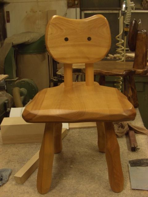 大ねこ椅子 現品処分_e0072513_8441649.jpg
