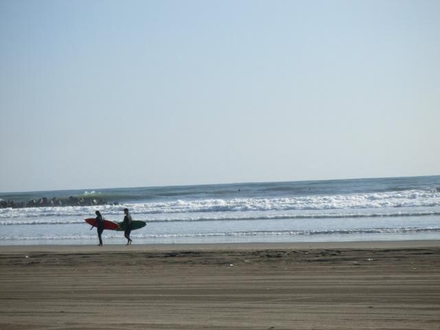 冬の海へ サーフィンへ_b0123820_1001518.jpg