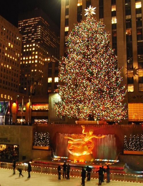 ロックフェラーセンターのクリスマスツリー 2008_b0007805_5531484.jpg