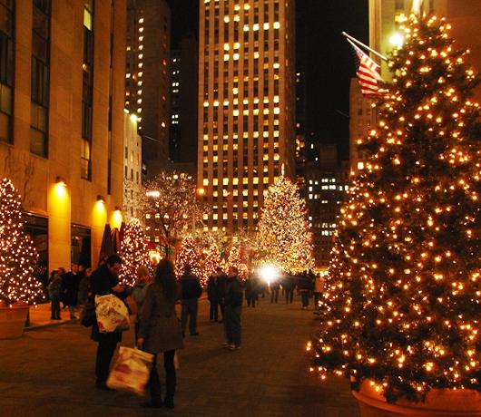 ロックフェラーセンターのクリスマスツリー 2008_b0007805_5543850.jpg