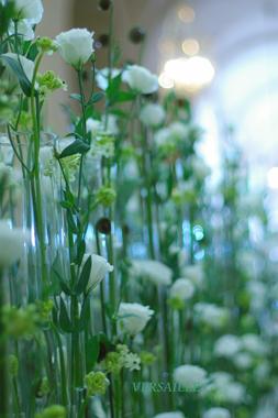 ノエルのパリ☆花研修報告。ヴェルサイユ花装飾前編_b0111306_2325153.jpg