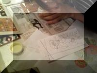 <スペインタイル>12月のレッスンでした(北堀江アートハウス)_f0149716_2354185.jpg