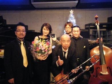 Live at Jazz工房Nishimura♪2008.12.20_c0139321_23161187.jpg