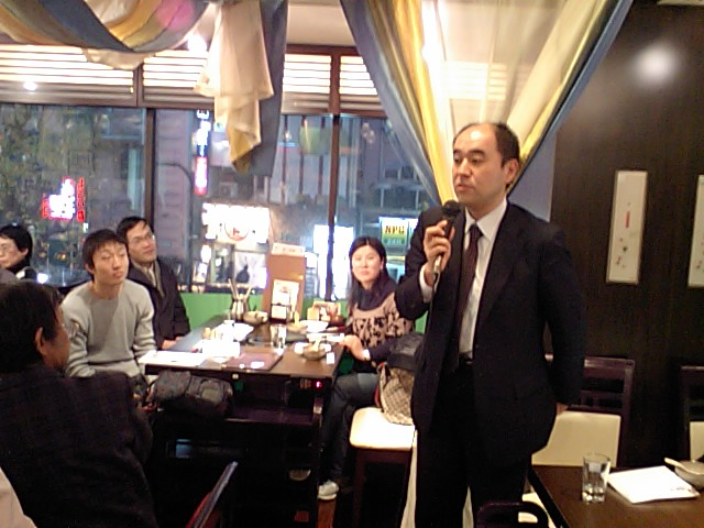第71回漢語角開催写真その6 京都立命館大学の久保裕之さんの報告_d0027795_16524514.jpg