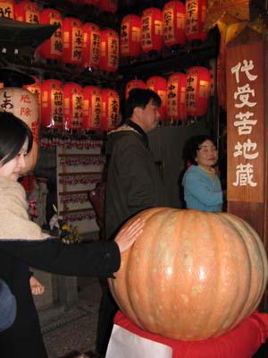 歳末風景2 矢田寺かぼちゃ供養_e0048413_23234440.jpg
