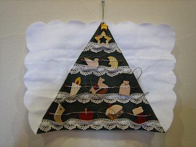 レリーフ組木絵(クリスマス)_b0100229_1213915.jpg