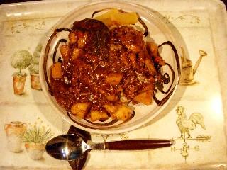 今日の夕飯はチキンカレー_e0166355_18515964.jpg
