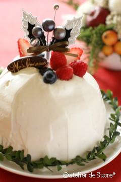 ドームケーキ@11月Cake Class & 12月One day Lesson_b0065587_20592246.jpg