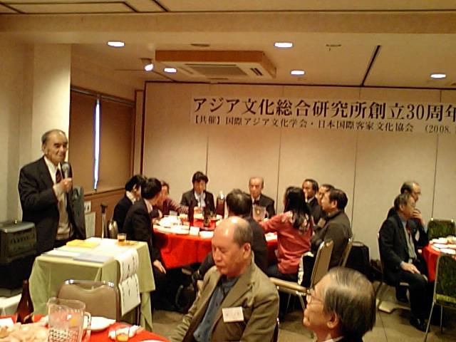 アジア文化総合研究所創設30年祝賀パーティー 東京池袋で開催_d0027795_17471687.jpg