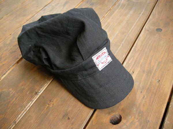 New Item!! Black Work Cap_f0161305_17293089.jpg