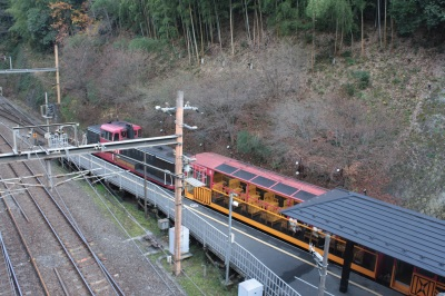 トロッコ電車  <嵯峨野>_c0118352_22411271.jpg