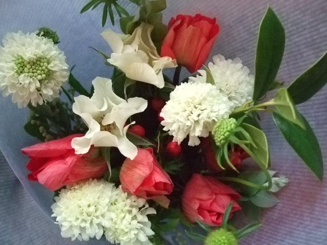 オークリーフ(クリスマスの小さな花束)_f0049672_15551616.jpg