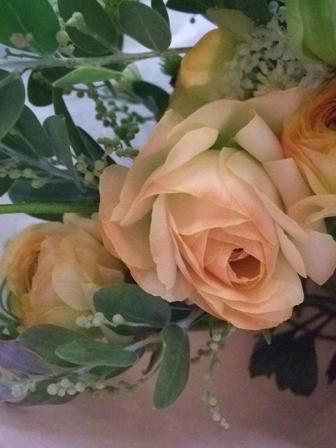 オークリーフ(クリスマスの小さな花束)_f0049672_15553374.jpg