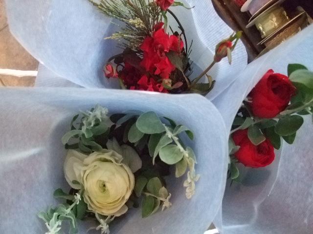 オークリーフ(クリスマスの小さな花束)_f0049672_15564012.jpg