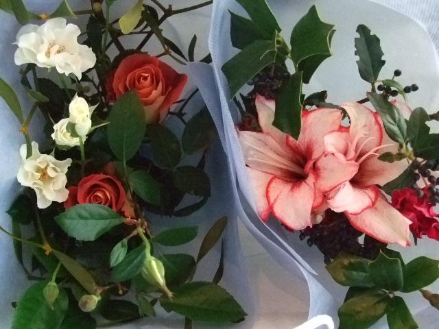 オークリーフ(クリスマスの小さな花束)_f0049672_160321.jpg