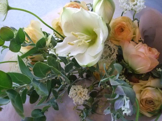 オークリーフ(クリスマスの小さな花束)_f0049672_1673664.jpg