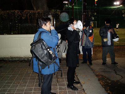 昨夜の渋谷界隈~「12・23クリスマス粉砕デモ」観察記録_f0030574_22544176.jpg