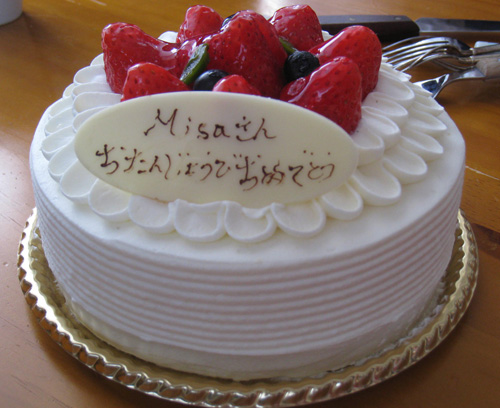 Happy Birthday to me(笑)!_b0064176_22101762.jpg