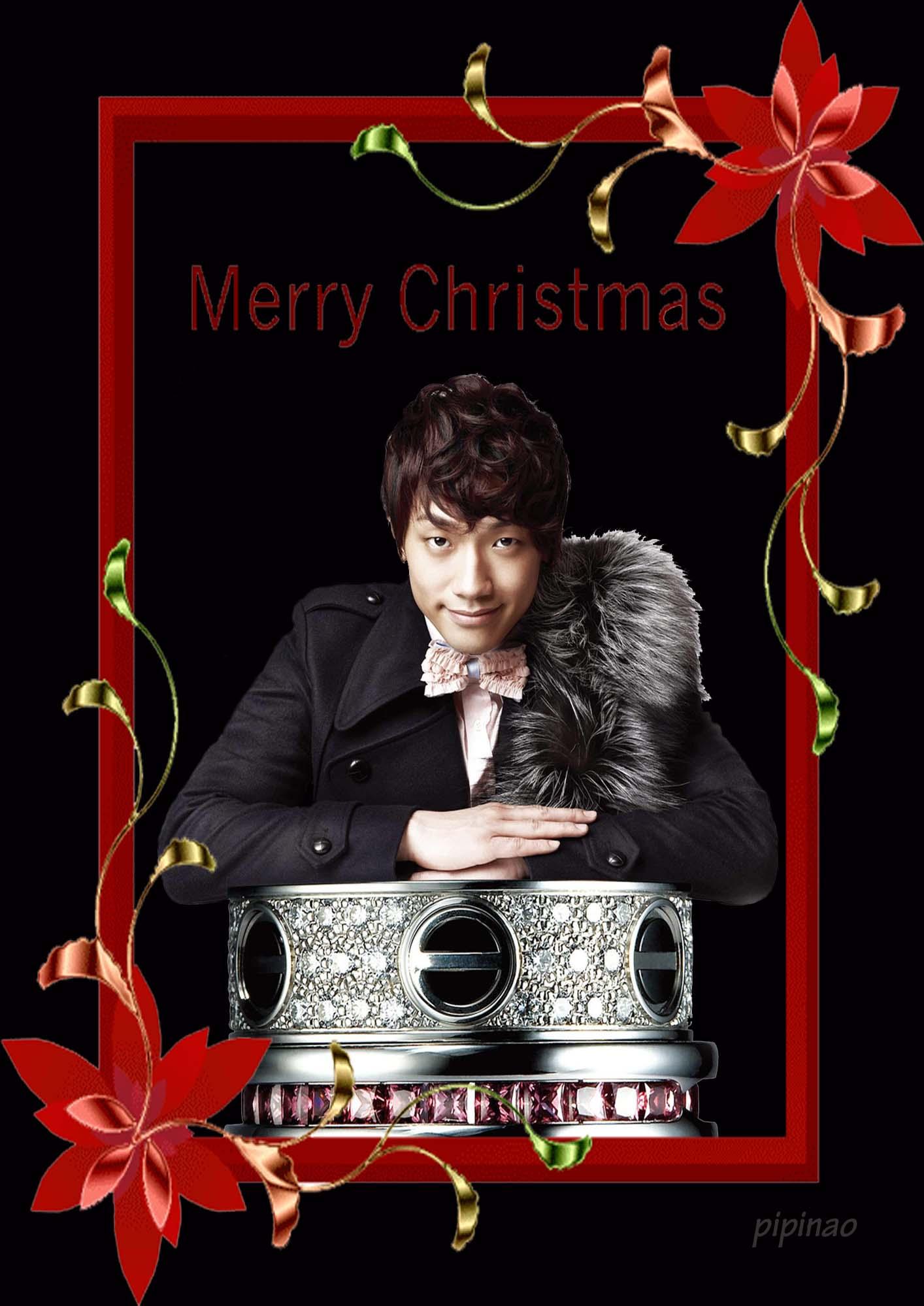 ★メリークリスマス★Rainからのメッセージ★可愛い_c0047605_92119100.jpg