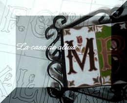 スペインタイル<イニシャルタイル>_f0149716_022617.jpg