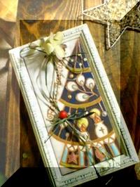 <スペインタイル・クリスマス>プチサンタ _f0149716_23552262.jpg