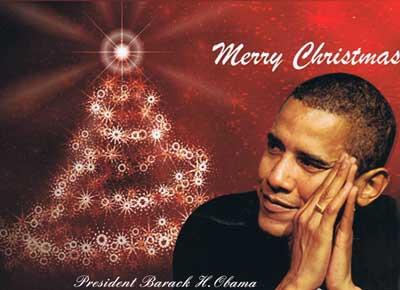 バラク・オバマからメリー・クリスマス!_f0009746_15254250.jpg