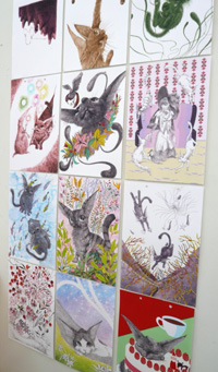 大カレンダー展 作品の紹介 その1_a0017350_31014.jpg