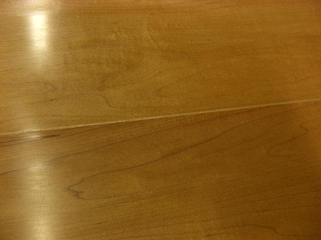 メープル天板の削りなおし_e0072513_8103282.jpg