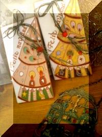 <スペインタイル・クリスマス>プチサンタ _f0149716_041217.jpg