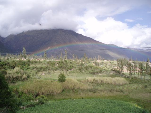 ペルー神秘の旅 ④ <虹に囲まれて>_f0095325_1029174.jpg