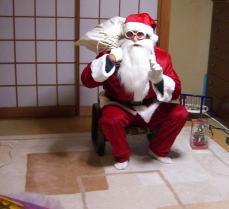 サンタが家にやってきたぁぁぁ!!!_c0058727_023165.jpg