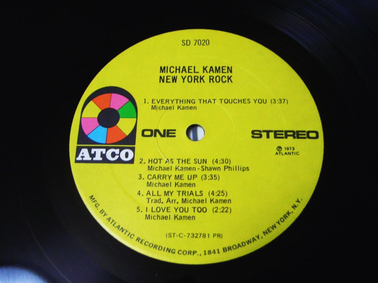MICHAEL KAMEN / NEW YORK ROCK _c0062649_1141484.jpg