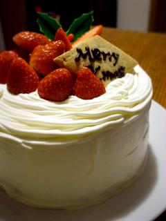 クリスマスケーキ2008_c0110869_7315652.jpg
