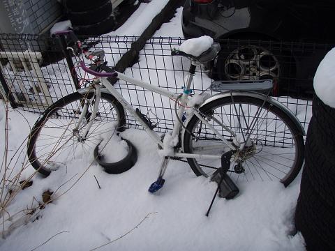 雪の中の愛車_b0074601_16274268.jpg
