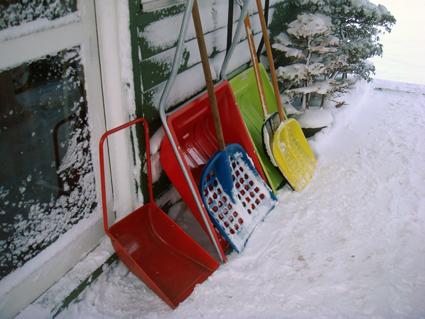 雪かき_f0160407_5413579.jpg