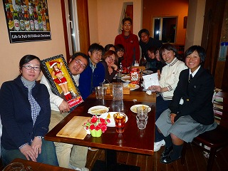 恒例のクリスマスパーティ 【Chef's Report】_f0111415_182130.jpg