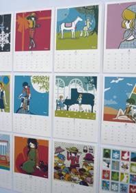 大カレンダー展 作品の紹介 その3_a0017350_2562694.jpg