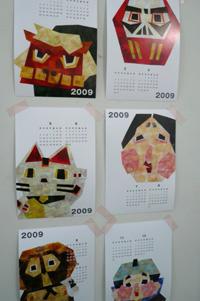大カレンダー展 作品の紹介 その3_a0017350_2581057.jpg