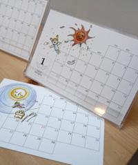 大カレンダー展 作品の紹介 その3_a0017350_2585669.jpg